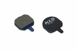 Brzdové platničky KLS D-08, organické (pár)