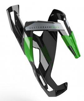 Košík ELITE CUSTOM RACE PLUS, čierna/zelená
