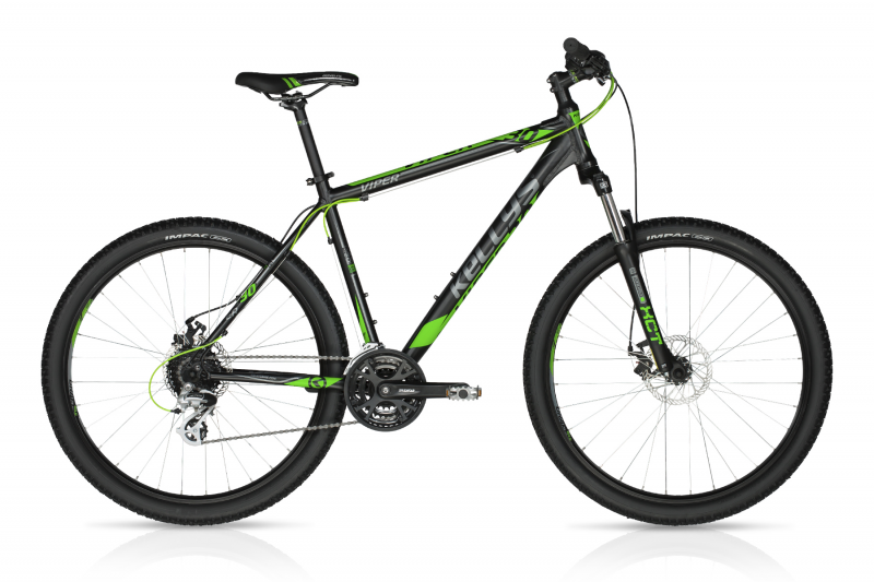 "KELLYS Viper 30 Black Green 27,5""  2018"
