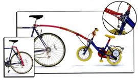 Tyč-ťažné zariadenie Trail-Gator pre detský bicykel