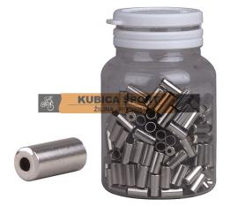 Koncovka bowdenu PRO-T, CNC, strieborná, 5 mm, cena za 1ks