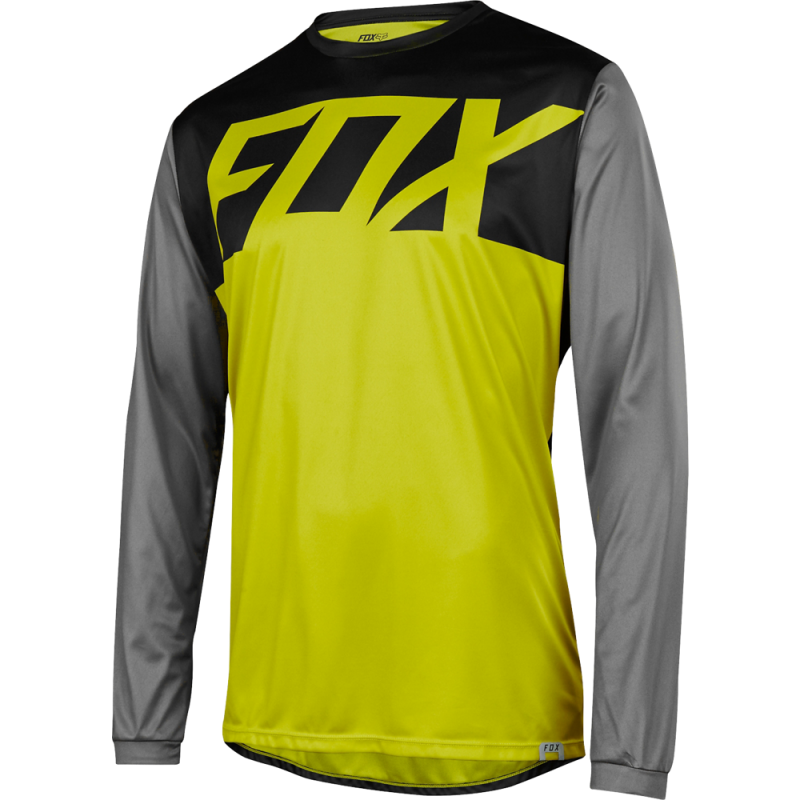 Dres FOX RANGER LS JERSEY, Dark Yellow