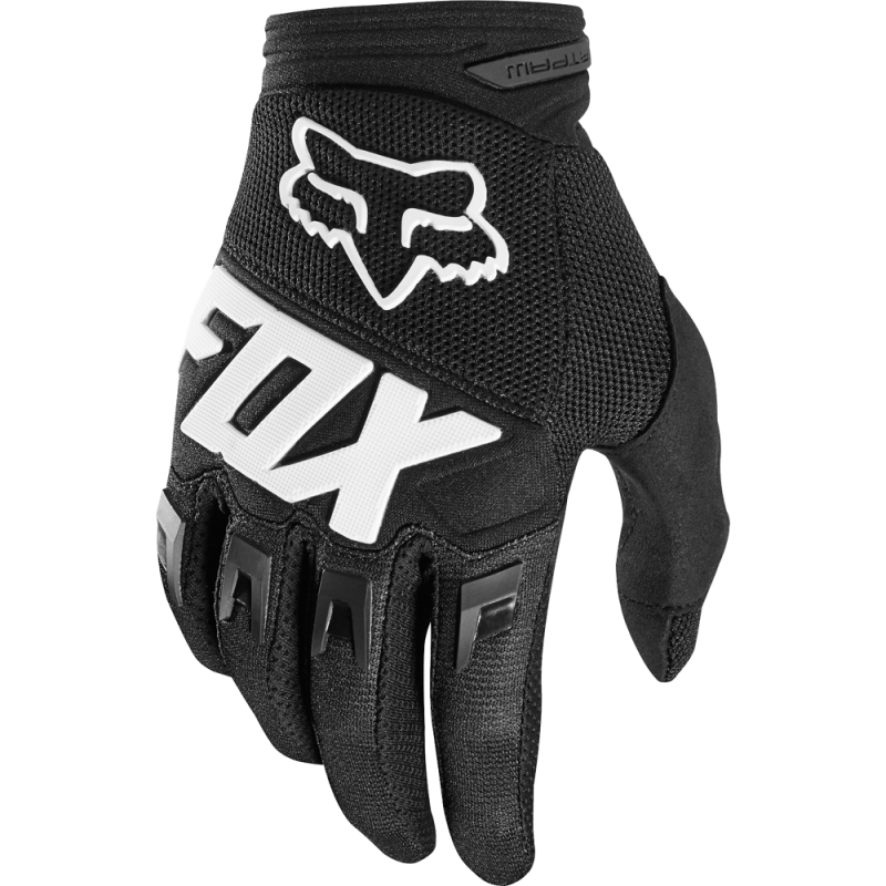 Detské rukavice FOX YTH DIRTPAW RACE, Black