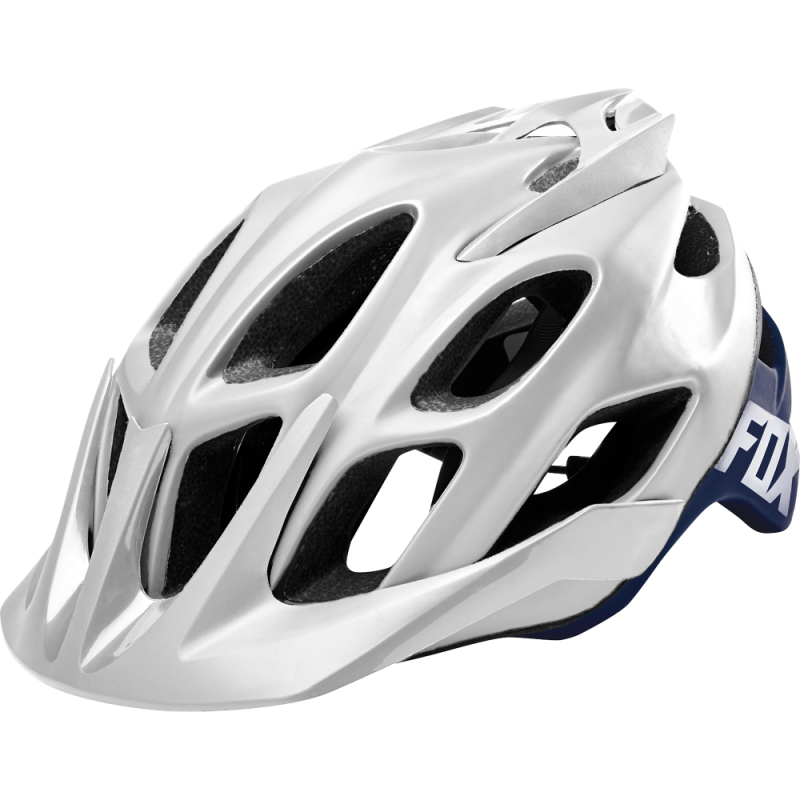 Prilba FOX FLUX CREO HELMET, White Navy