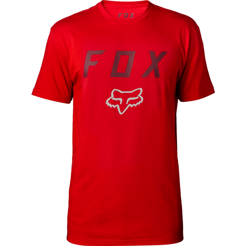 Tričko FOX CONTENDED SS TECH TEE, Dark Red