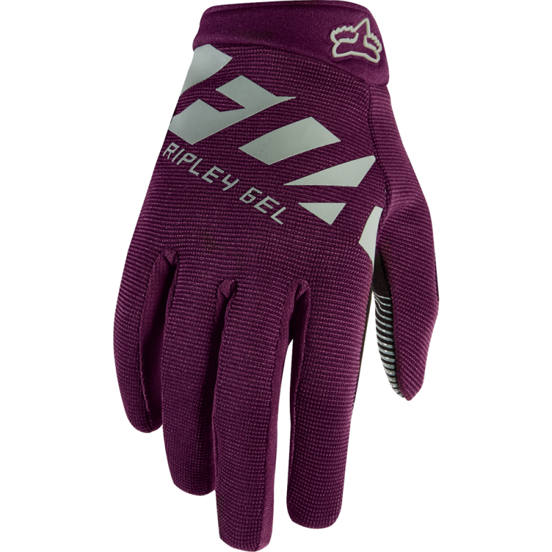 Dámske rukavice FOX WOMENS RIPLEY GEL GLOVE, Plum