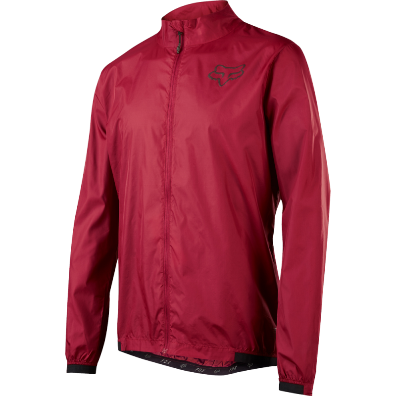 Bunda FOX ATTACK WIND JACKET, Dark Red