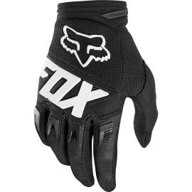 Detské rukavice FOX YTH DIRTPAW RACE, Black, M