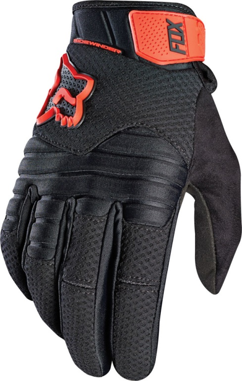 Pánske rukavice FOX Racing Sidewinder Polar Glv, black/red