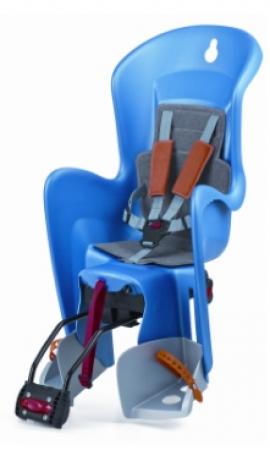 Detská sedačka POLISPORT BILBY RS, 5 bodová, modrá/šedá