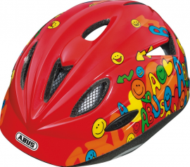 ABUS Rookie smiley red, 52-57cm, M