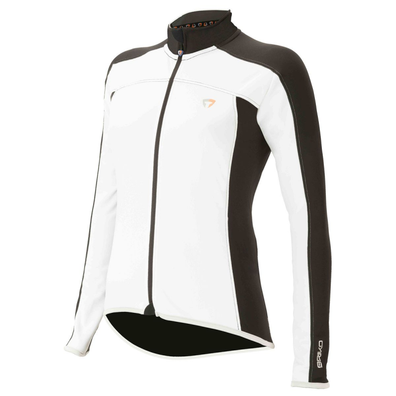 Dres BRIKO GT THERMIC LADY JERSEY, white black