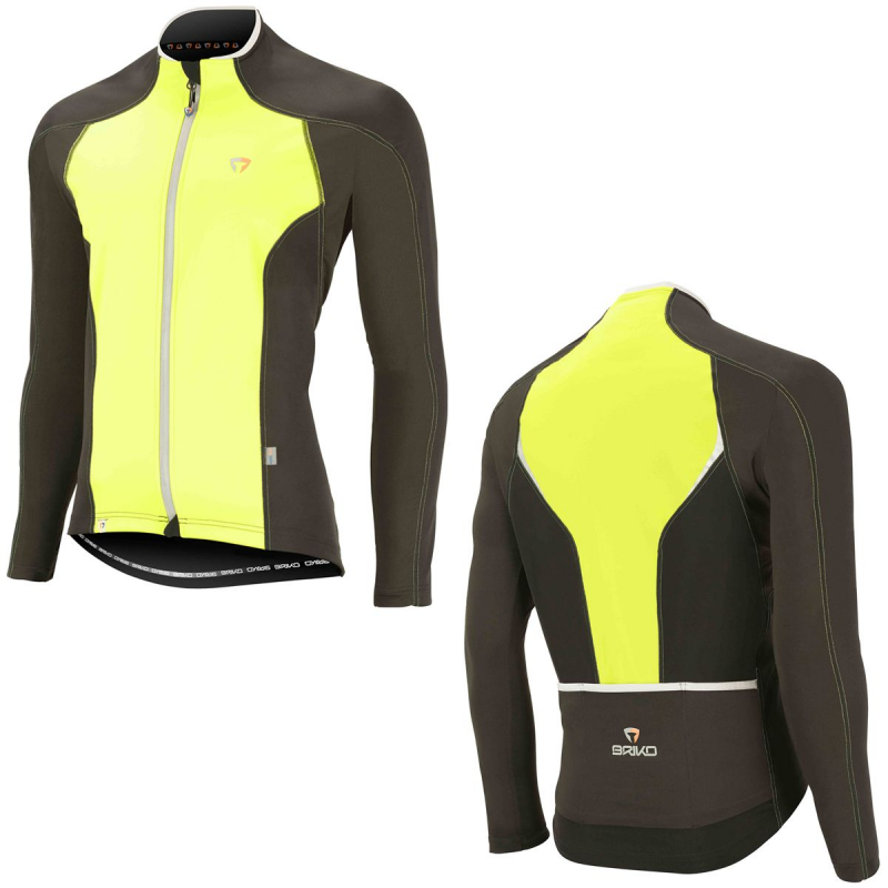 Bunda BRIKO LIGHT JACKET W.O., yellow fluo black