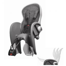 Detská sedačka POLISPORT WALLABY DELUXE, 5 bodová, šedá