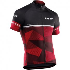 Northwave ORIGIN jersey short sleeves, black/red