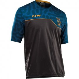 Northwave ENDURO jersey short sleeve mtb, graphite/blue