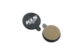 Brzdové platničky KLS D-13, organické (pár)