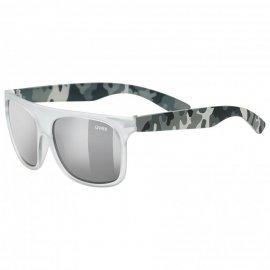 Okuliare UVEX SPORTSTYLE, 511 white transparent camo S3