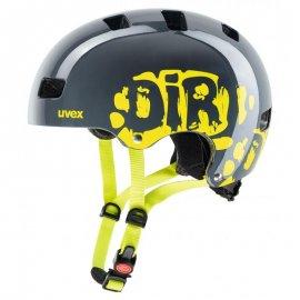 UVEX KID3 dirtbike, grey lime