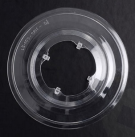 Plastový tanier pod kazetu, 4-zub