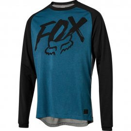 Dres FOX Ranger Dri-Release Fox LS Jersey, midnight