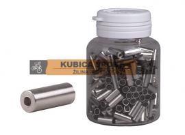 Koncovka bowdenu PRO-T, CNC, strieborná, 4 mm, cena za 1 ks
