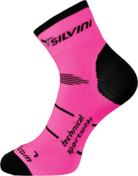 bff1d602bd5d4 Ponožky SILVINI ORATO UA445, pink charcoal