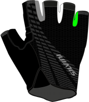 Rukavice Silvini TEAM MA1412, black green, M
