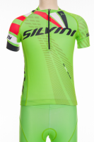 Detský dres SILVINI TEAM CD1435, green-red, 134-140