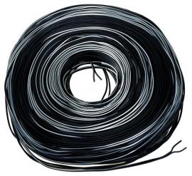 Kábel na dynamo, dvojžilový, 1 m