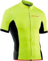 Dres Northwave FORCE Jersey Short Sleeves, yellowfluo