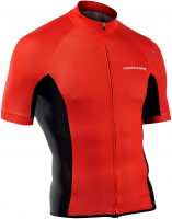 Dres Northwave FORCE Jersey Short Sleeves, red