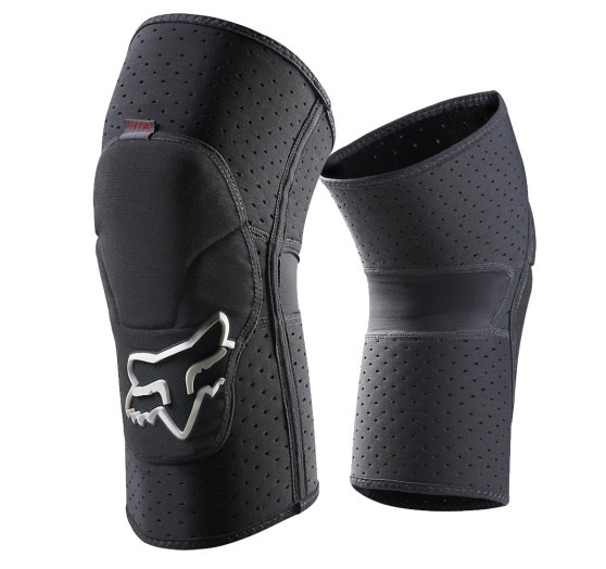 Chrániče FOX LAUNCH ENDURO KNEE PAD, Grey, M