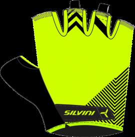 Rukavice Silvini ALBANO WA1431, neon/black