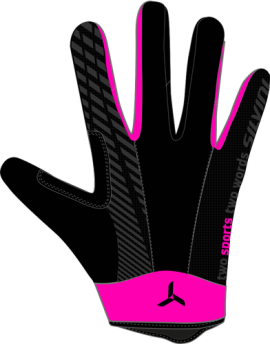 Rukavice Silvini TEAM WA1415, black/pink