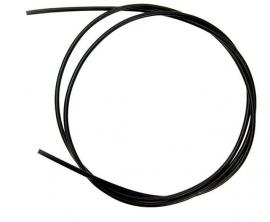 Brzdový bowden LONGUS, teflon, čierny, 5 mm, cena za 1 m