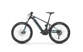 "MONDRAKER CHASER+ 27,5""  2019, black/light blue"