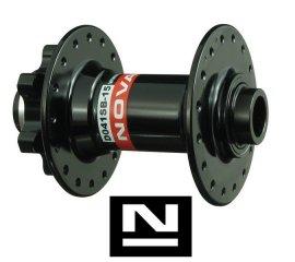 Náboj Novatec D041SB-15, predný, 32-dierový, čierny (N-logo)