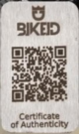 BIKE ID - Štítok