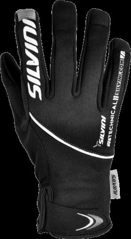 Dámske rukavice SILVINI ORTLES WA723, black charcoal