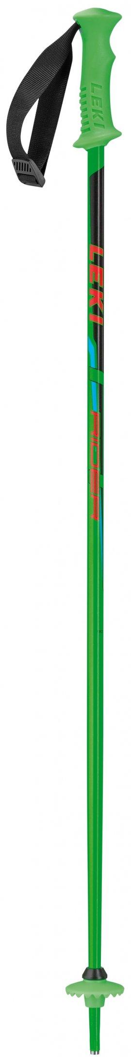 LEKI RIDER, neon green, 90 cm