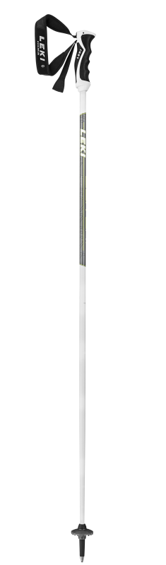 LEKI ELITE 14.0 T, white-anthr.-black-green, 120 cm