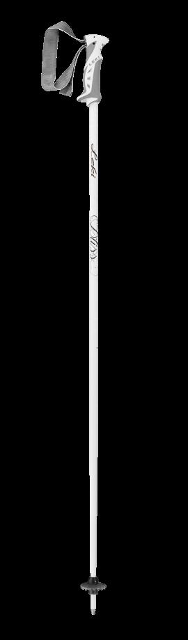 LEKI Bliss, white/anthracite-gold, 110 cm