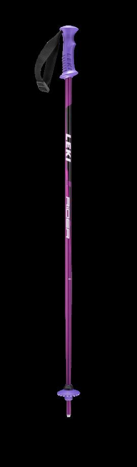 LEKI RIDER GIRL, purple, 95 cm