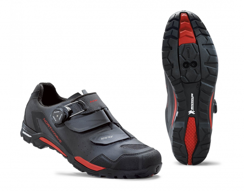 Tretry NORTHWAVE OUTCROSS PLUS GTX, anthra/red
