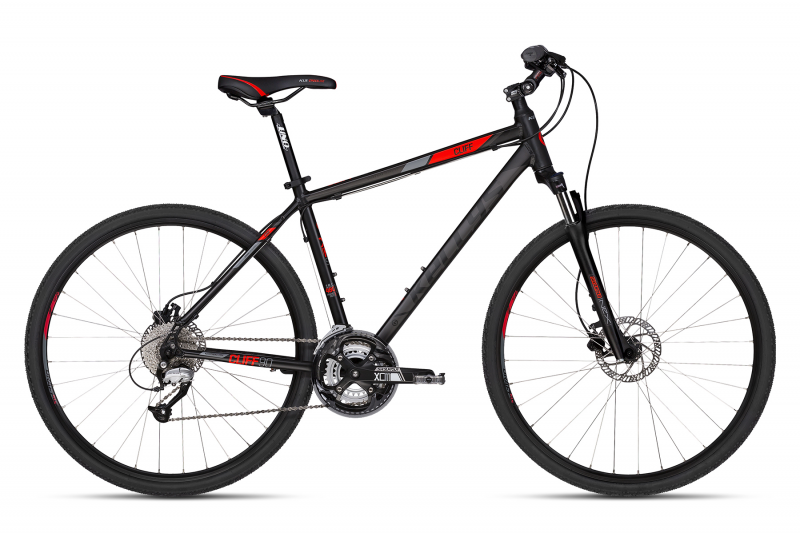 "KELLYS Cliff 90 28""  2018, black red"
