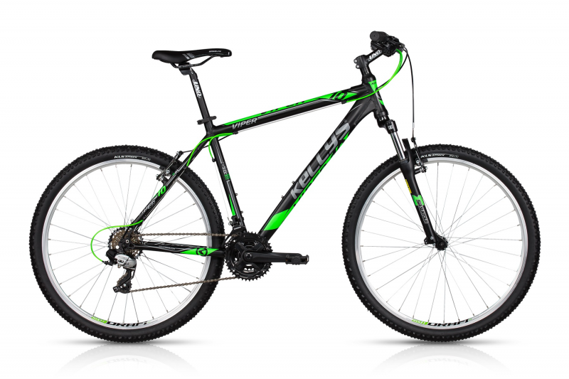 "KELLYS Viper 10 26""  2018, black lime"