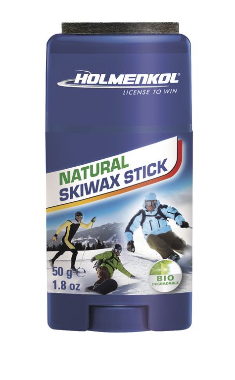 HOLMENKOL NATURAL SKIWAX STICK, 50 g