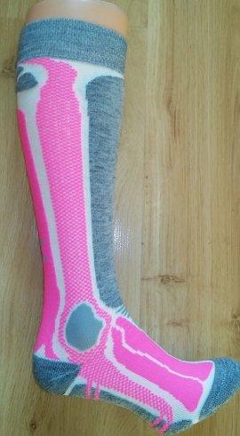 Ponožky SHERPAX DUNAGIRI-P, ružová