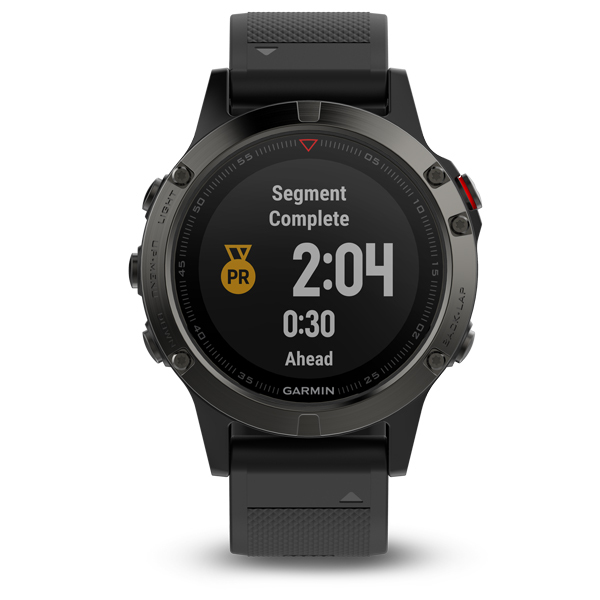 GARMIN FÉNIX 5 GRAY + black band